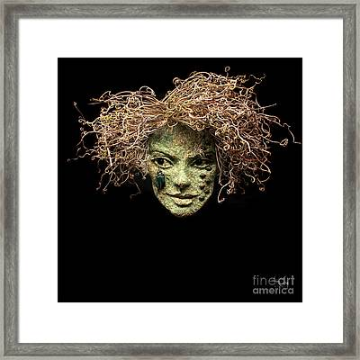 Forest Delights A Sculpture By Adam Long Framed Print by Adam Long