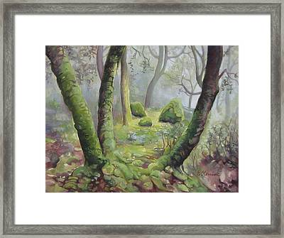 Forest Framed Print by Elena Oleniuc