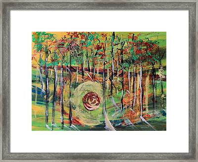 Forest Energy  Framed Print