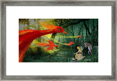 Forest Fantasy 1 Framed Print