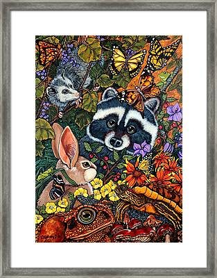 Forest Fantasy Framed Print by Sherry Dole