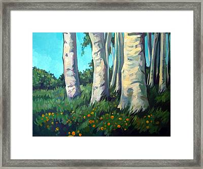 Forest Framed Print by Filip Mihail