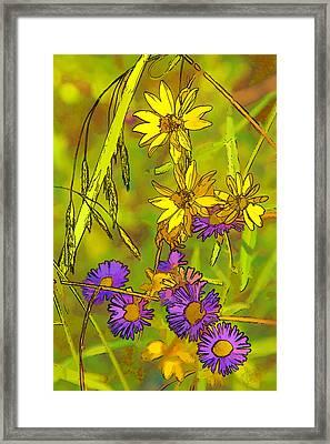 Forest Flora Framed Print