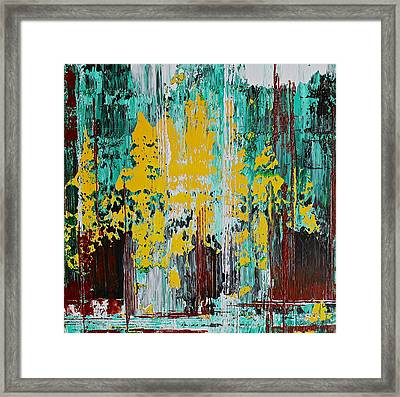 Forest From The Trees Framed Print
