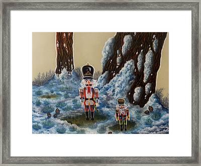Forest Guardians Framed Print