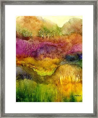 Forest Framed Print by Hailey E Herrera