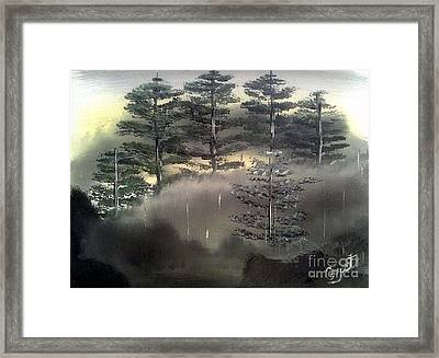 Forest Hill Side Framed Print