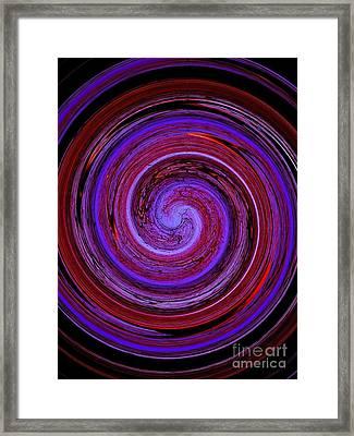 Forest In Spirale Framed Print