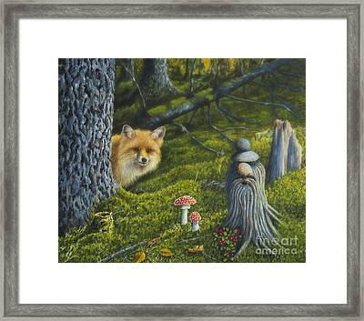 Forest Life Framed Print