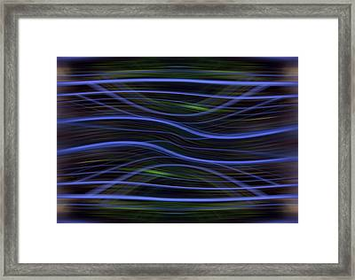 Forest Light Enhanced Framed Print by Florin Birjoveanu