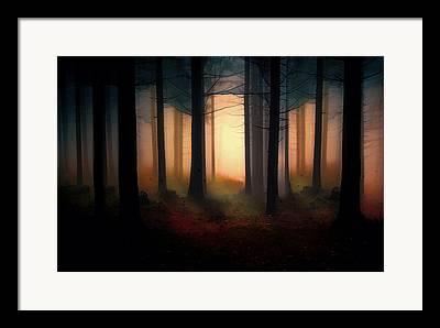 Autumn Scenes Mixed Media Framed Prints
