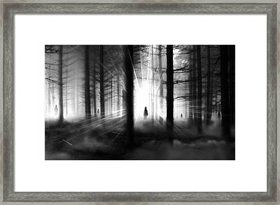 Framed Print featuring the photograph Forest... by Mariusz Zawadzki