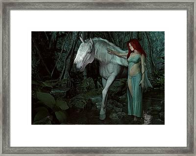 Forest Of Enchantments Framed Print by Maynard Ellis