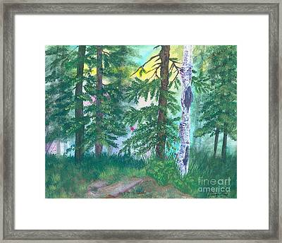 Forest Of Memories Framed Print