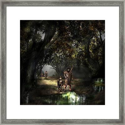 Forest Of Northern Oz 51 Framed Print