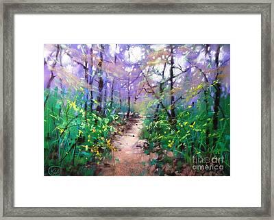 Forest Of Summer Framed Print