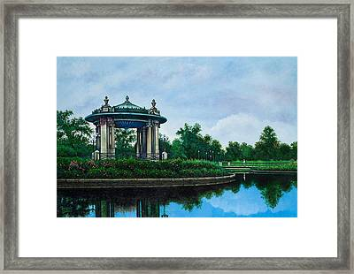 Forest Park Muny Bandstand II Framed Print by Michael Frank