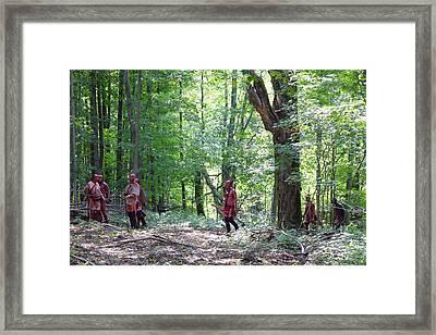 Forest Path Framed Print by William Coffey