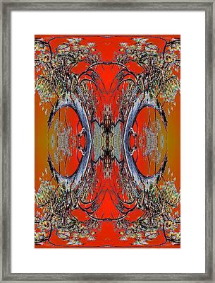 Forest Ritual 2013 Framed Print by James Warren