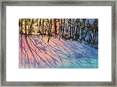 Forest Silhouettes Framed Print