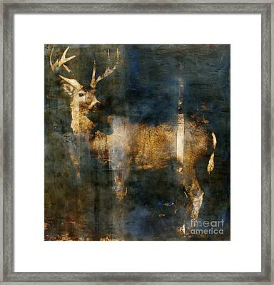 Forest Soul Framed Print by Mary Leslie