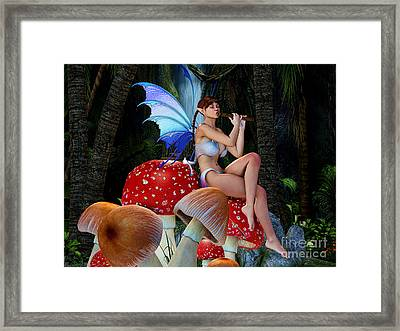 Forest Tranquility Framed Print