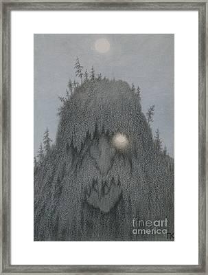 Forest Troll Framed Print