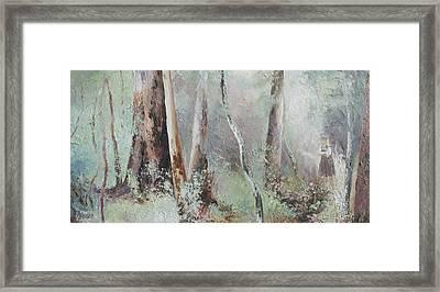 Forest Walk Framed Print by Jan Matson