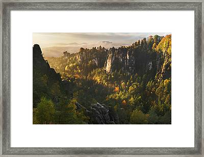 Forest Whispers Framed Print by Karsten Wrobel