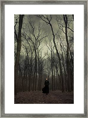 Forest Witch Framed Print by Cambion Art