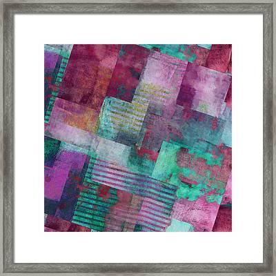 Forever - Abstract Art  Framed Print