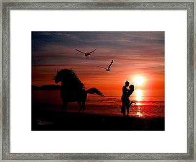 Forever And A Day Framed Print by EricaMaxine  Price