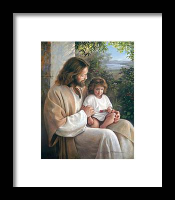 Gods Children Framed Prints