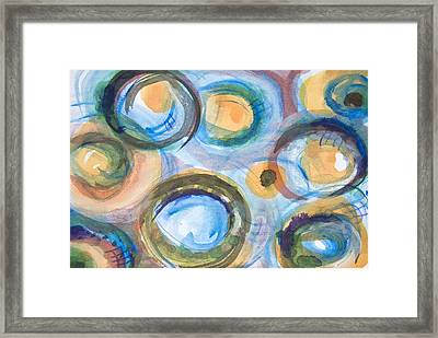 Forever Blowing Bubbles  Framed Print