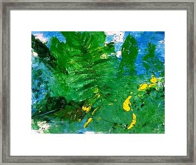 Forever Fern Framed Print