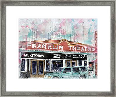 Forever Franklin Framed Print by Tim Ross