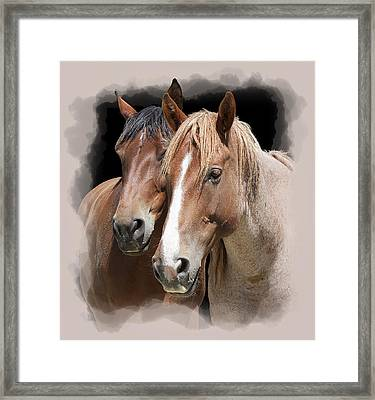 Forever Friends Framed Print by Daniel Hagerman
