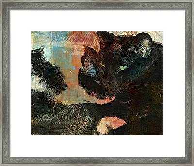 Forever Friends Framed Print by Kathy Barney