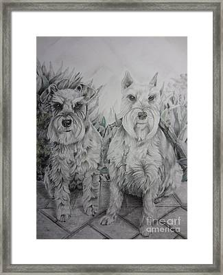 Forever Friends Framed Print by Laurianna Taylor