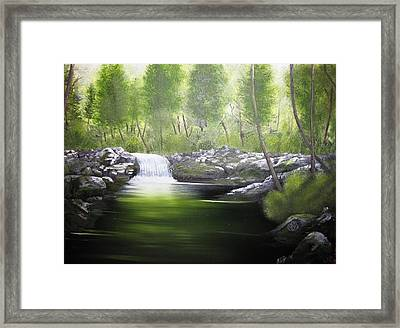 Forever Green Framed Print by Kevin F Heuman