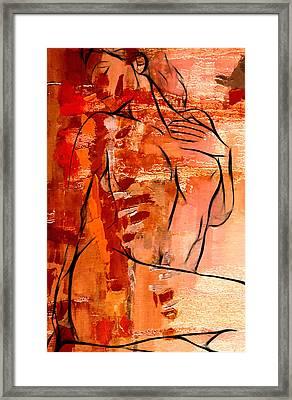 Forever In Love Framed Print by Steve K