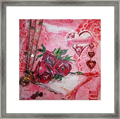 Forever Love Framed Print by Patty Boban Lipinski