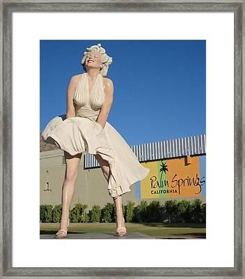 Forever Marilyn 10 Framed Print