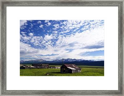 Forever Sky Framed Print by Jeremy Rhoades