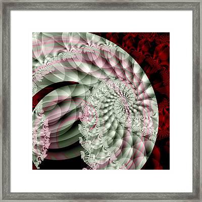 Forever Spiral Framed Print