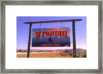 Forever West Framed Print by Chris Tarpening