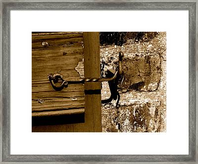 Forged Framed Print