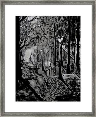 Forget Paris 2 Framed Print