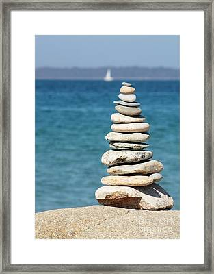 Forget Your Worries Framed Print