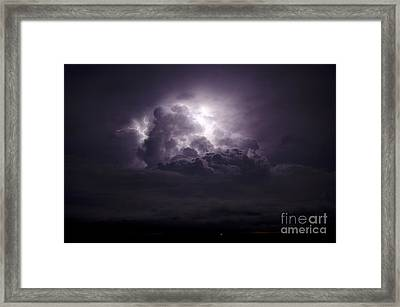 Forging The Heavens Framed Print